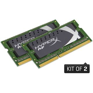 16GB Kingston HyperX PnP LoVo DDR3L-1866 SO-DIMM CL11 Dual Kit