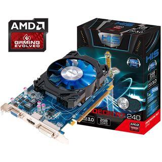 2048MB HIS Radeon R7 240 iCooler Aktiv PCIe 3.0 x16 (Retail)