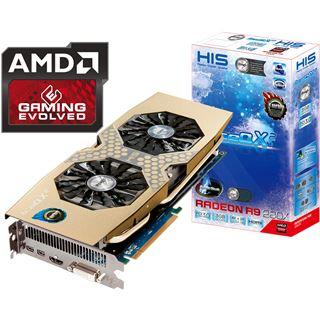 3072MB HIS Radeon R9 280X IceQ X2 Turbo Aktiv PCIe 3.0 x16 (Retail)