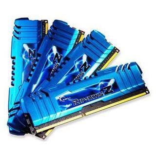 32GB G.Skill RipJawsZ blau DDR3-1866 DIMM CL10 Quad Kit