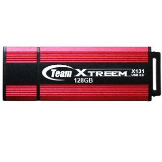 128 GB TeamGroup Xtreem X131 rot/schwarz USB 3.0