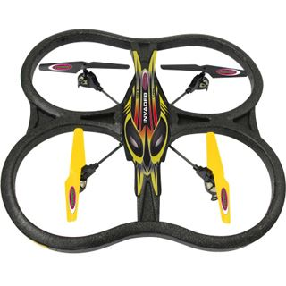 Jamara Quadrocopter Inva. JAM 4 + 1 Kanal Invader 2,4 GhZ