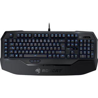 Roccat Ryos MK Pro Gaming Keyboard CHERRY MX Red USB Deutsch schwarz (kabelgebunden)