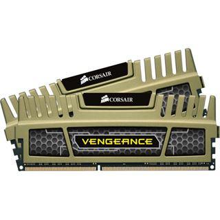 8GB Corsair Vengeance grün DDR3-1600 DIMM CL9 Dual Kit