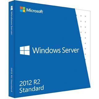 Microsoft Windows Server 2012 R2 Standard 64 Bit Deutsch OEM/SB 2 CPUs