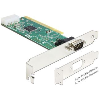 Delock 89326 1 Port PCI Low Profile retail