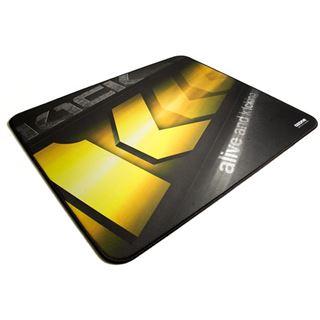 Ozone K1ck eSport Team Gaming Mauspad 450 mm x 400 mm schwarz/gelb