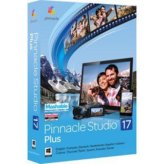 Corel Pinnacle Studio 17.0 Plus 32/64 Bit Multilingual Videosoftware Vollversion PC (DVD)