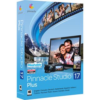 Corel Pinnacle Studio 17.0 Plus 32/64 Bit Deutsch Videosoftware Vollversion PC (DVD)
