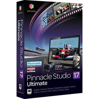 Corel Pinnacle Studio 17.0 Ultimate 32/64 Bit Deutsch Videosoftware Vollversion PC (DVD)