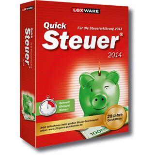 Lexware QuickSteuer 2014 32/64 Bit Deutsch Office Vollversion PC (CD)