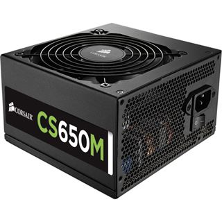 650 Watt Corsair CS Series CS650M Modular 80+ Gold