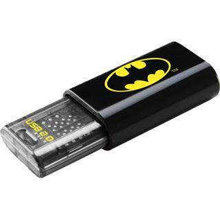 8 GB EMTEC C600 Batman Logo schwarz/gelb USB 2.0