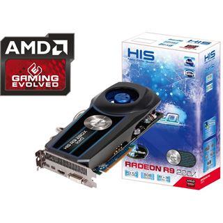3072MB HIS Radeon R9 280X IceQ Boost Clock Aktiv PCIe 3.0 x16 (Retail)