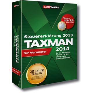 Lexware Taxman 2014 für Vermieter Deutsch Finanzen Vollversion PC (DVD)