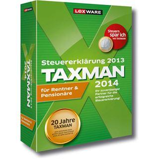 Lexware Taxman 2014 für Rentner und Pensionäre Deutsch Finanzen Vollversion PC (CD)