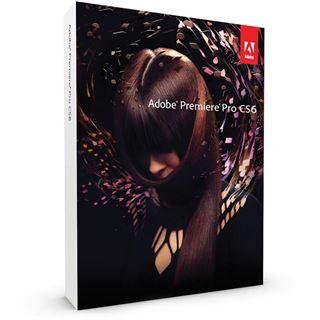 Adobe Premiere Pro CS6 Englisch nur Datenträger PC (DVD)