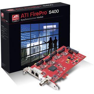 Sapphire FirePro S400 Synchronisierungsmodul für AMD FirePro 3D-Workstation-Grafikkarten (31004-08-40R)
