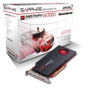 4096MB Sapphire FirePro W7000 Aktiv PCIe 3.0 x16 (Retail)
