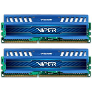 16GB Patriot Viper 3 Series - Blue Sapphire DDR3-2400 DIMM CL10 Dual Kit