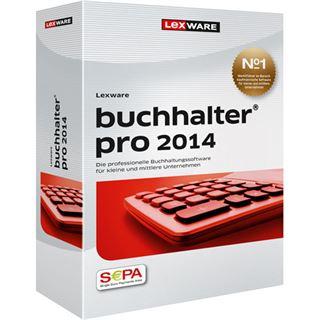Lexware Buchhalter Pro 2014 32/64 Bit Deutsch Finanzen Vollversion PC (DVD)