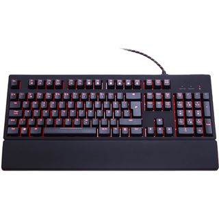 Func KB-460 CHERRY MX Red USB Deutsch schwarz (kabelgebunden)