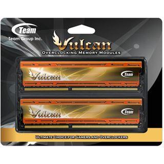 16GB TeamGroup Vulcan Series orange DDR3-2133 DIMM CL10 Dual Kit