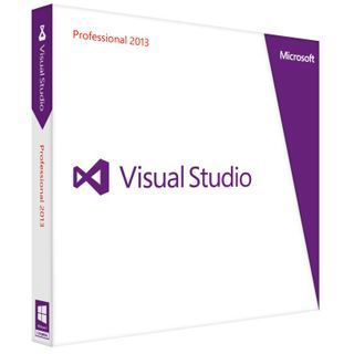 Microsoft Visual Studio 2013 Professional 32/64 Bit Deutsch Tool Update PC (DVD)