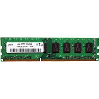 4GB takeMS TMS4GB364F081-139 DDR3-1333 DIMM CL8 Single