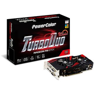 2048MB PowerColor Radeon R9 270X TurboDuo Aktiv PCIe 3.0 (Retail)