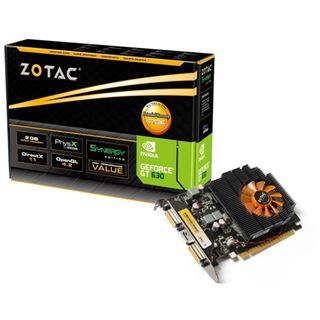 2GB ZOTAC GeForce GT 630 Synergy Edition Aktiv PCIe 3.0 x16 (Retail)