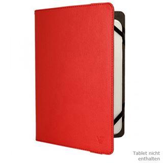 """V7 Universal Folio Case Tablet 8"""" rot"""