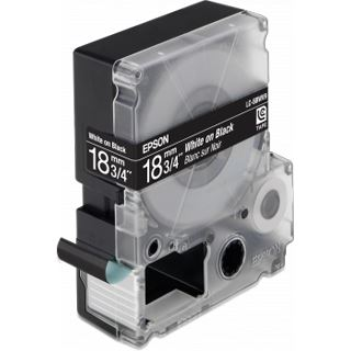 Epson LC-5BWV9 leuchtend weiß auf schwarz Etikettenkassette (1 Rolle (1.8 cm x 9 m))