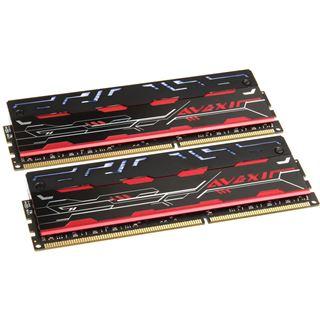 8GB Avexir Blitz Series White LED DDR3-2400 DIMM CL10 Dual Kit