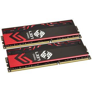 8GB Avexir Blitz Series Red LED Elitegroup-L337 DDR3-2400 DIMM CL10 Dual Kit