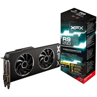 4096MB XFX Radeon R9 290 Double Dissipation Edition Aktiv PCIe 3.0 x16 (Retail)
