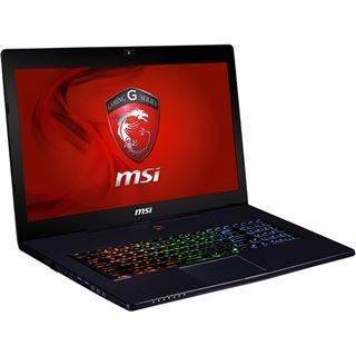 "Notebook 17.3"" (43,94cm) MSI GS70 2OD-i781FD FreeDOS"