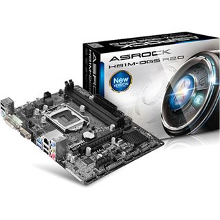 ASRock H81M-DGS Rev. 2.0 Intel H81 So.1150 Dual Channel DDR3 mATX Retail