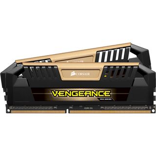 16GB Corsair Vengeance Pro Series gold DDR3-2400 DIMM CL11 Dual Kit