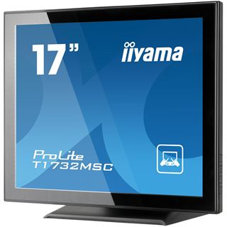 "17"" (43,18cm) iiyama ProLite T1732MSC-B1 NS Touch schwarz 1280x1024 1xVGA/1xDVI"