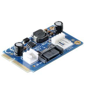Akasa Adapter für mSATA zu SATA (AK-PCCMSA-01)