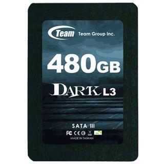 """480GB TeamGroup Dark L3 2.5"""" (6.4cm) SATA 6Gb/s MLC (T253L3480GMC101)"""