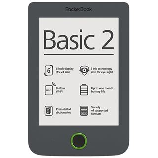 "6.0"" (15,24cm) Pocketbook Basic 2 dunkel grau"