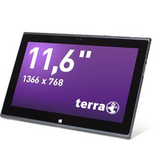"""11.6"""" (29,46cm) Terra Pad 1160 WiFi/Bluetooth V4.0 64GB schwarz/silber"""