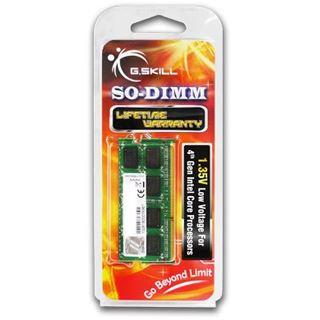 4GB G.Skill F3-1600C11S-4GSL DDR3-1600 SO-DIMM CL11 Single