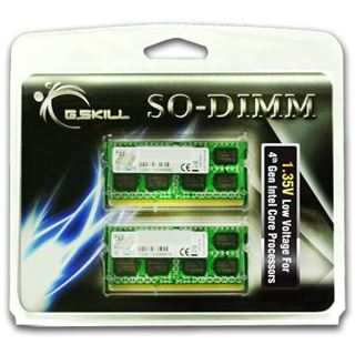 8GB G.Skill F3-1333C9D-8GSL DDR3-1333 SO-DIMM CL9 Dual Kit