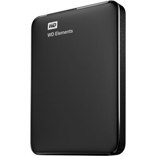 "750GB WD Elements Portable WDBUZG7500ABK-EESN 2.5"" (6.4cm) USB 3.0 schwarz"