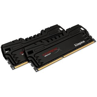 8GB HyperX Beast T3 DDR3-1866 DIMM CL10 Dual Kit