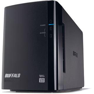 """4000GB Buffalo DriveStation Duo HD-WL4TU3R1-EB 3.5"""" (8.9cm) USB 3. schwarz"""