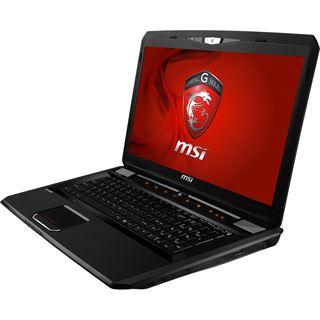 "Notebook 17.3"" (43,94cm) MSI GX70 3CC-87FD FreeDOS"